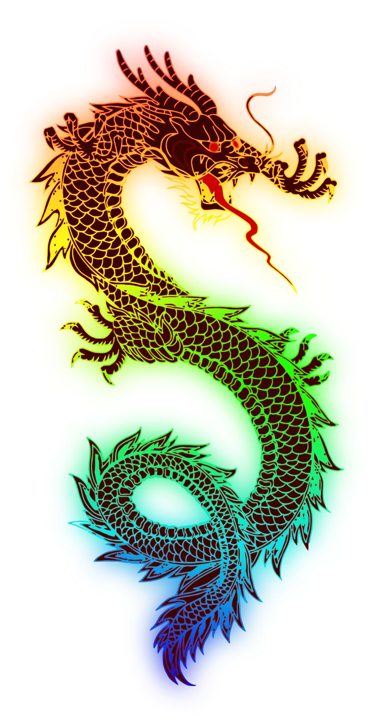 Dragon 80 Chinese new Year 2 12 Art Coloring Book