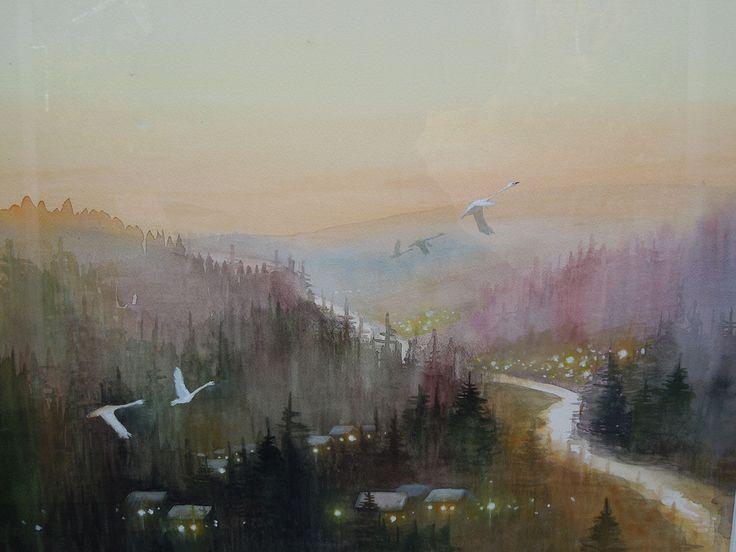 Petra Sahlin - Akvarell och oljemåleri | Konstrundan Avesta
