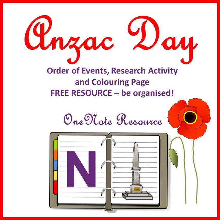 Anzac day one note cover