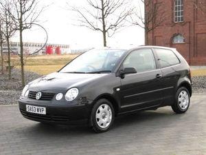 2003 VW VOLKSWAGEN POLO 1.2 S * 3 DOOR * BLACK * AIR CON www.thecarwarehouse.co.uk £2495