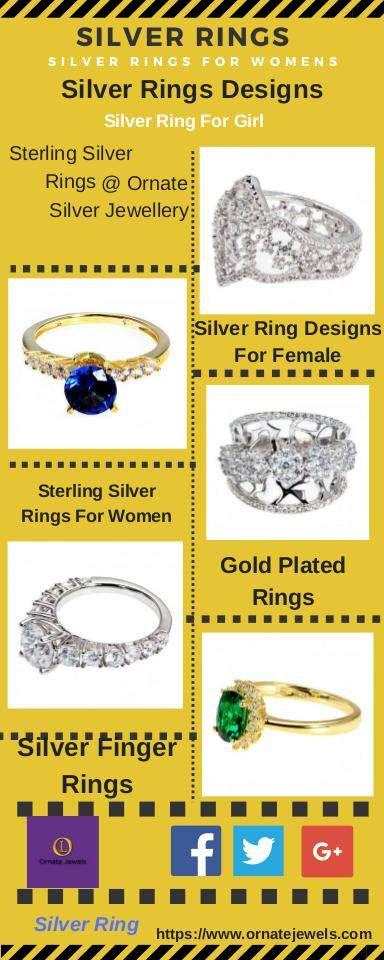 Silver Rings : Silver Rings Online Shopping For Women, Girls @ https://www.ornatejewels.com/rings  #SilverRings #SilverRing #SilverRingsOnline #SilverRingsOnlineIndia #BuySilverRingsOnlineIndia #SilverRingsForWomen #SilverRingForGirl #SilverRingsDesigns #PureSilverRings #SterlingSilverRings #PureSilverRingsOnline #PureSterlingSilverRingsOnline