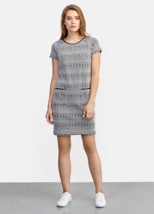 Платье с этническим принтом за 1799р.- от OSTIN