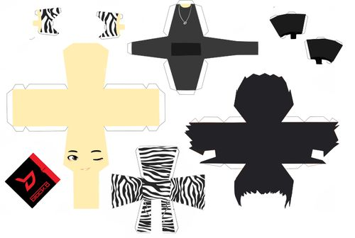 And to start off the Block B dolls (take 2) we have Park Kyung!