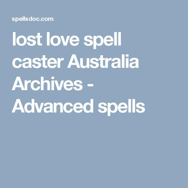 lost love spell caster Australia Archives - Advanced spells