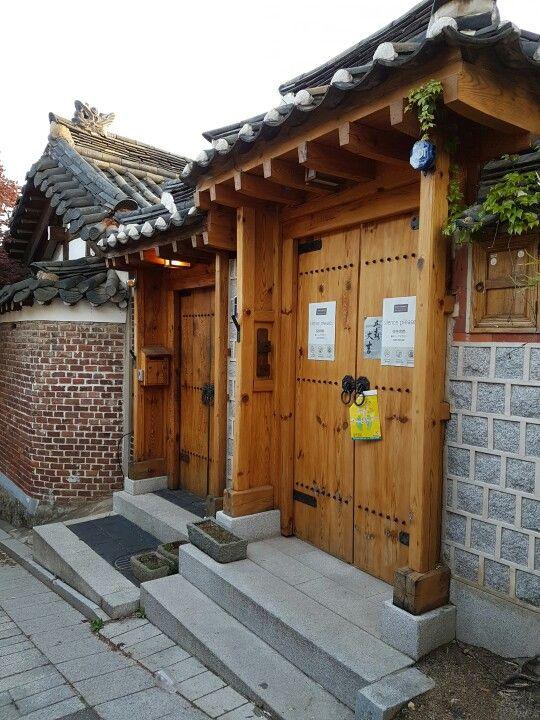 traditional house at Bukchon Village #busan