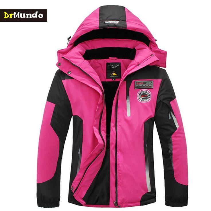 79.98$  Watch here - http://alijd5.worldwells.pw/go.php?t=32764445435 - DrMundo Plus Size SKI JACKET WOMEN FLECCE Mountain ski-wear waterproof hiking outdoor snowboard jacket ski suit snow jackets