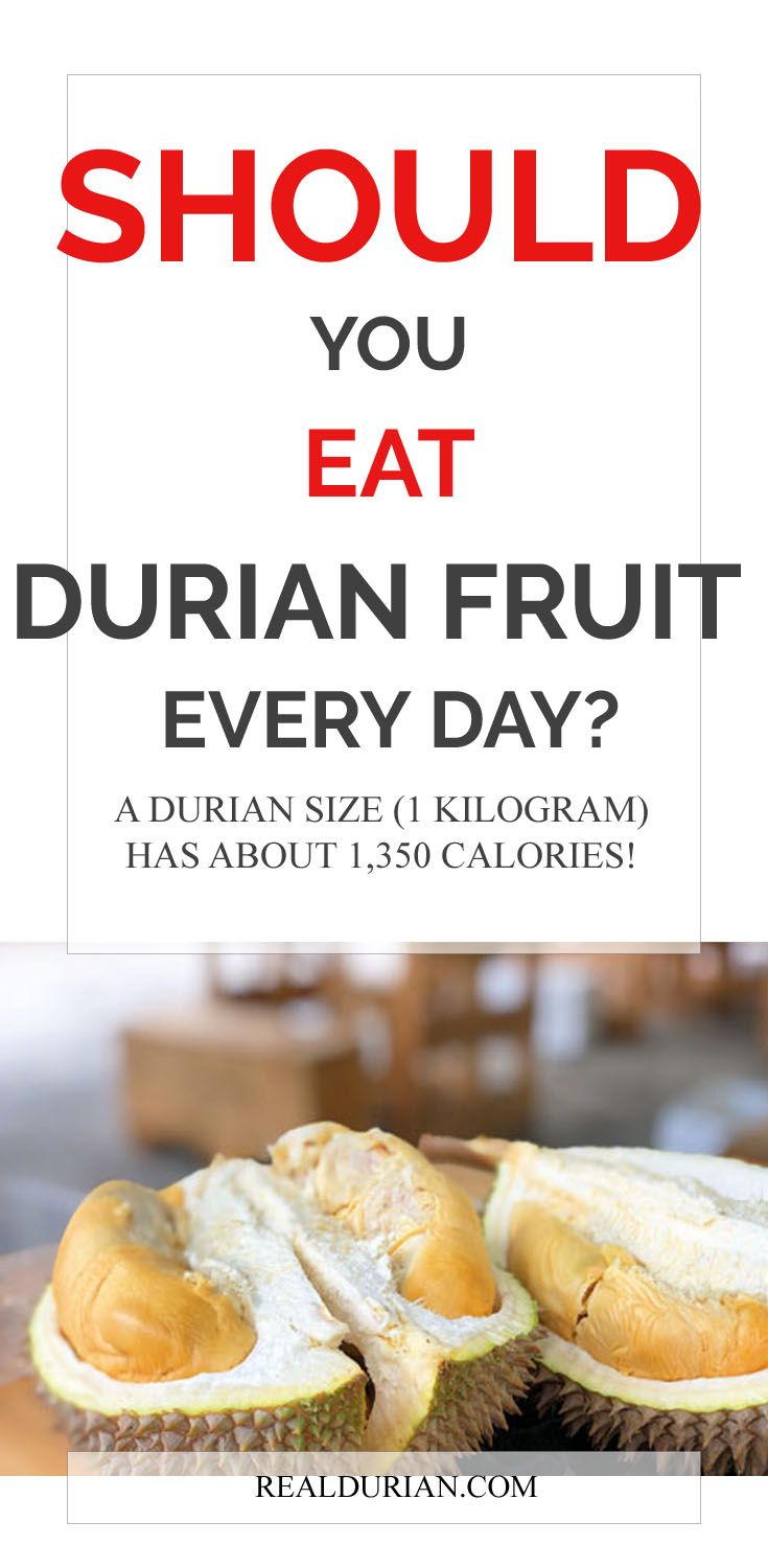 Should You Eat Durian Fruit Every Day Eat Durian Holiday Snacks