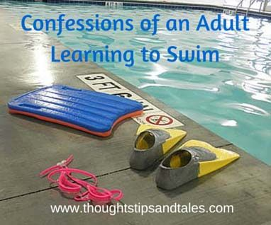 I was ready to do a mini-triathlon with a friend -- but all I needed to do with learn how to swim!