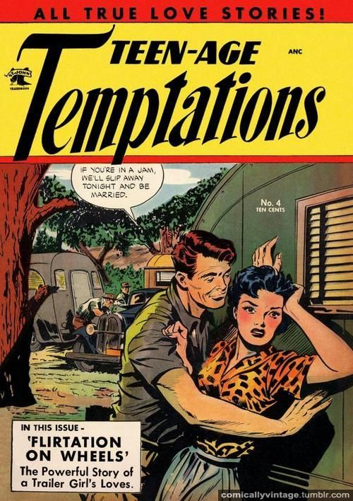 The Powerful Story Of A Trailer Girls Loves! | Caravaning, RV, Camp, Glamp | Pinterest | Comics, Comic books and Romance Comics
