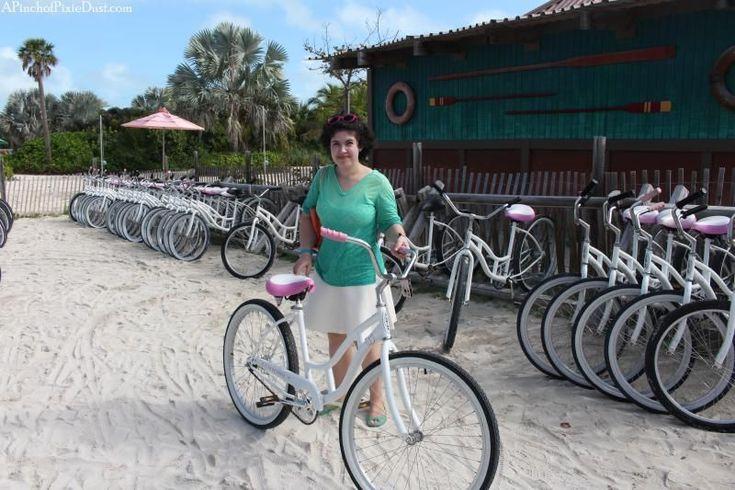 A Pinch of Pixie Dust: Castaway Cay Blissful Bike Ride
