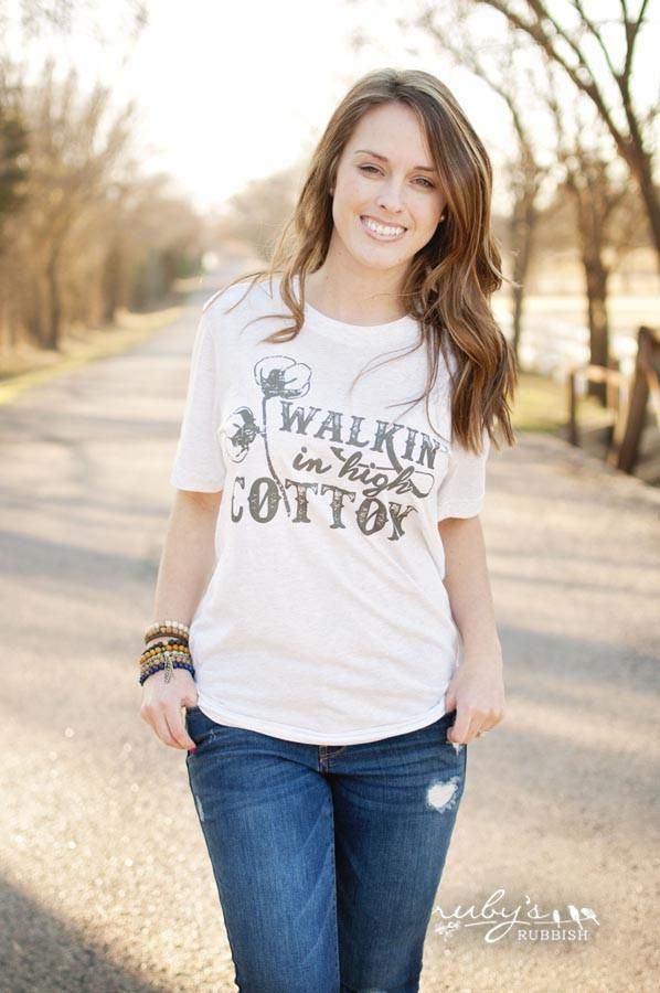 Walking in High Cotton - Southern T-Shirt