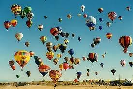 #ridecolorfully to the Albuquerque International Balloon Fiesta