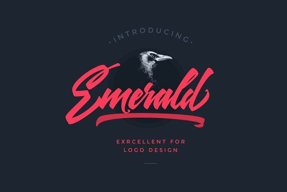 Emerald Script Font by kavoon on @creativemarket
