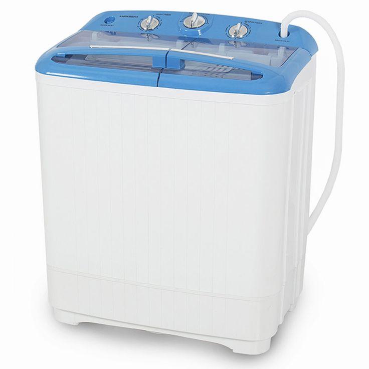 Portable Small Rv Dorm Cycle Compact 11lbs Washing Machine Wash
