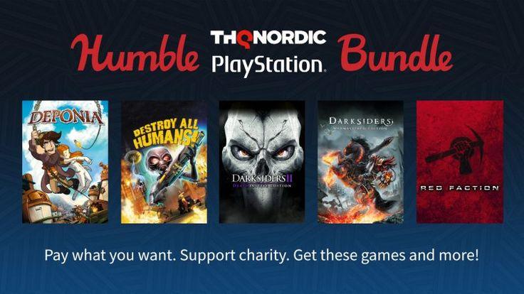 تخفیف Humble Bundle برای PSN