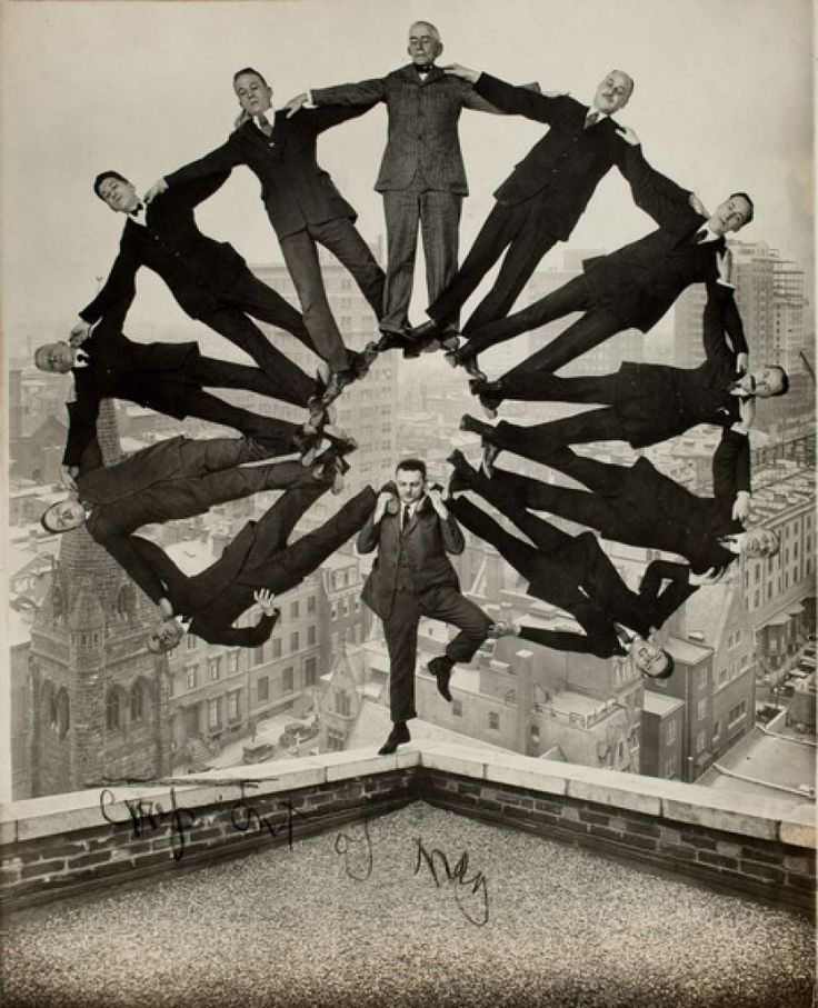 'Faking It: Manipulated Photography Before Photoshop' Comes To Metropolitan Museum Of Art October 11 (PREVIEW, PHOTOS): Men'S, Photo Manipulation, Artist, 1930, Photography, Eleven Men, Photoshop