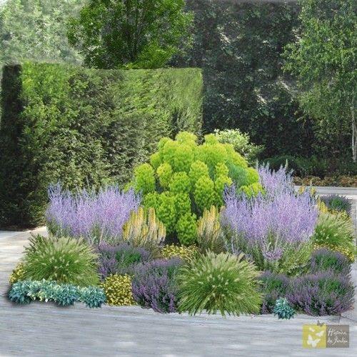 Jardin fleuri - 52 plantes - 8,8m2
