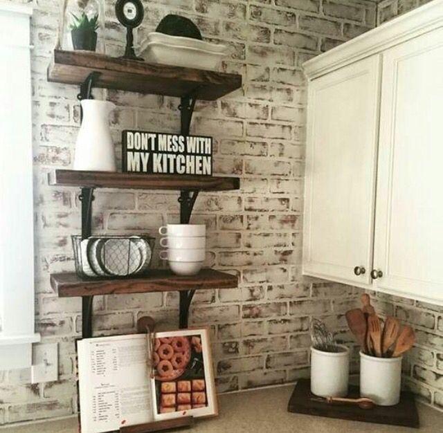 Best 25+ Whitewash Brick Backsplash Ideas On Pinterest