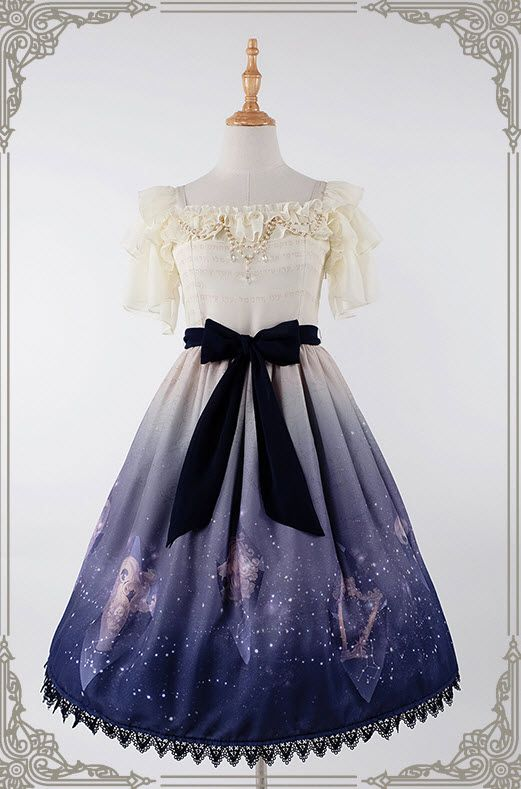 Recently, I've noticed that [-☪☁★-Galaxy Theme-☪☁★-] Lolita dresses are very popular.......