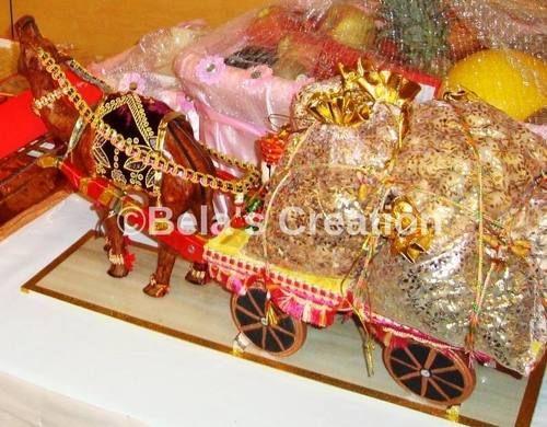 Decorative Camel Cart