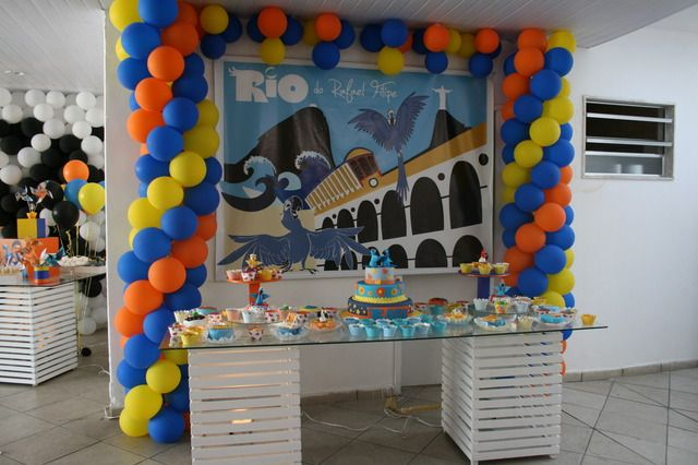 "Photo 3 of 13: Rio Movie / Birthday ""Rafael's Party"" 