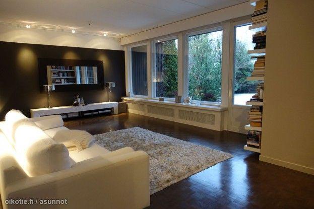 Myytävät asunnot, Alkutie 10 10, Helsinki #oikotieasunnot #olohuone #livingroom #koti #home