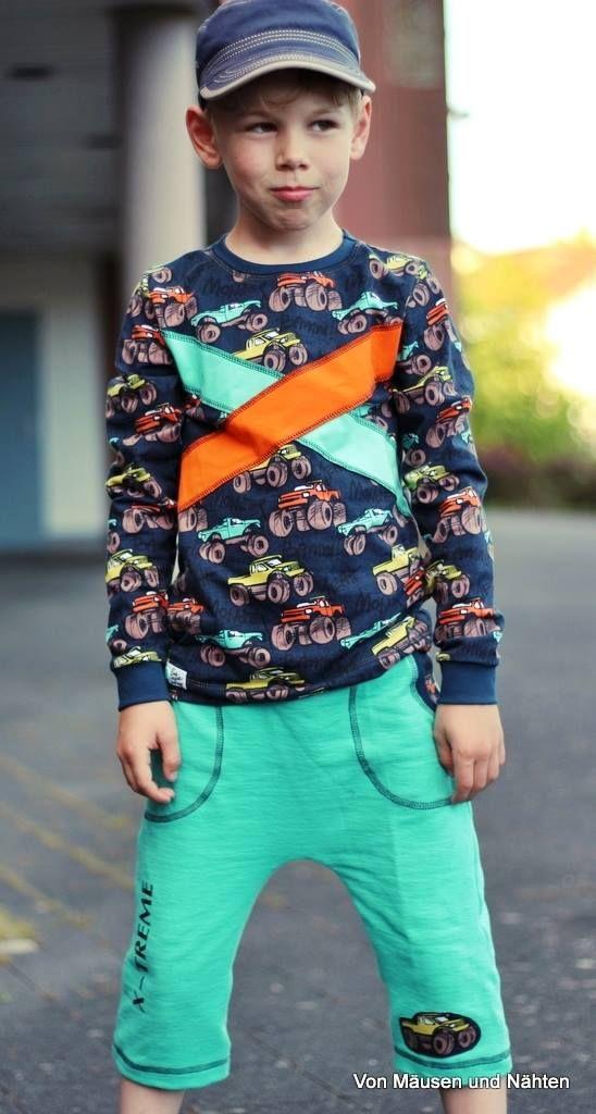 cooles shirt für jungs nähen  kinderkleidung kinder