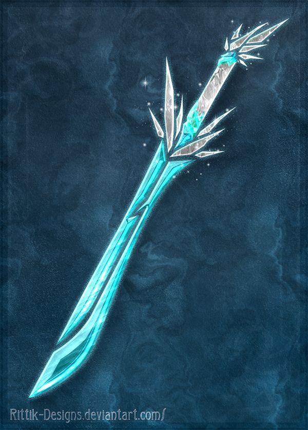 Elemental Swords Ice By Rittik Designs On Deviantart Fantasy