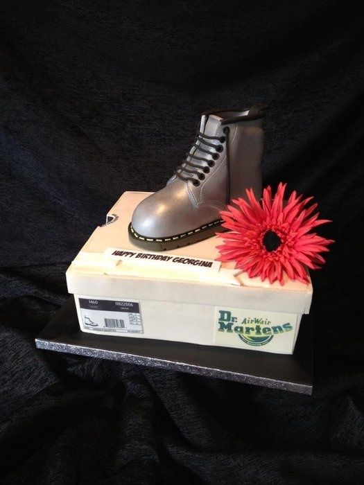 Dr Marten Boots Cake Symphony In Sugar Cakes Pinterest