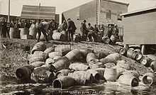 "It's no surprise that the Jersey Shore was not happy about the terms of Prohibition from 1920-1933, and it's also no surprise that the largest ""Rum Row"" was off the New Jersey coast,"
