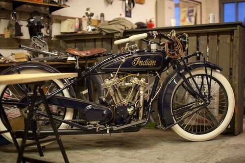 #motorcycle #indian #vintage