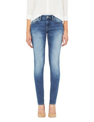 Alissa High Rise Skinny Mavi David Jones