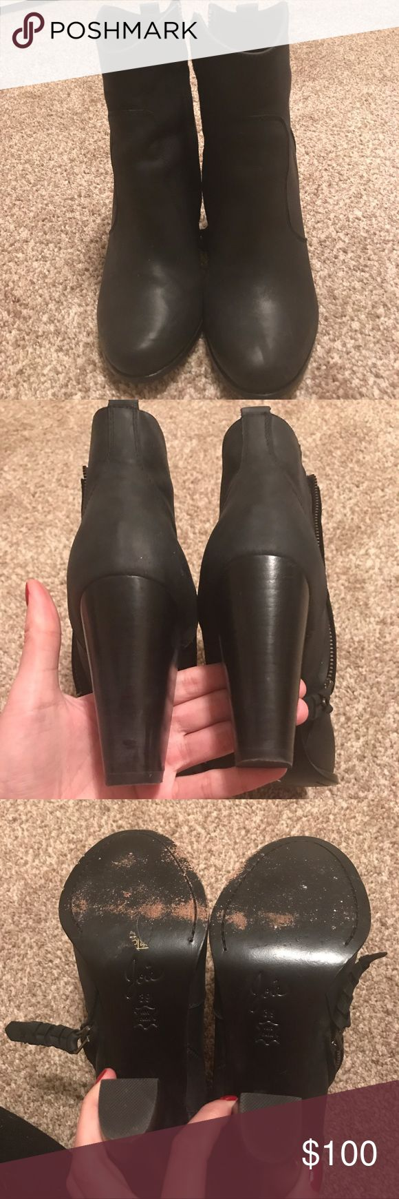Joie Dalton leather boot Great used condition. Worn a couple of times. Fits size 8.5 too. Joie Shoes Ankle Boots & Booties