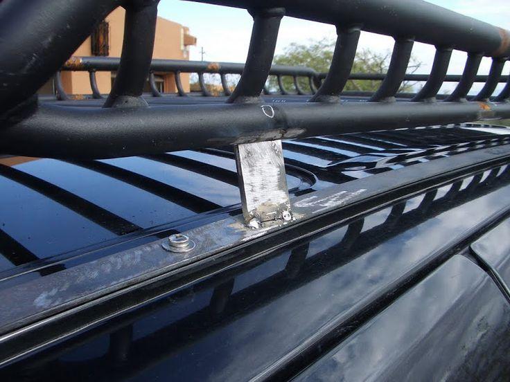 semicustom roof rack for my WJ Expedition Portal wj