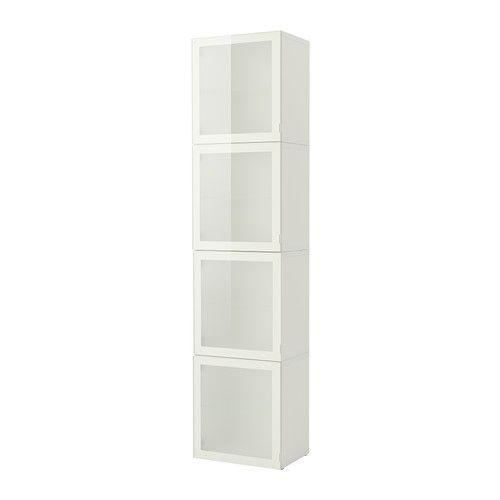 Perfect BESTÅ Storage Combination With Glass Door IKEA