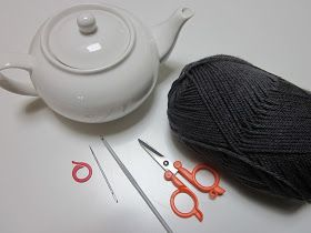 Great pic tutorial for a basic tea cosy you could add anything too x