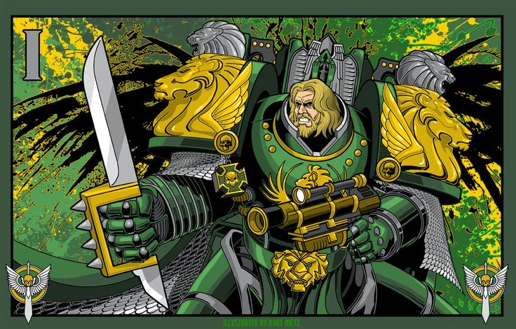 SHOWCASE: 18 Totally Awesome Primarch Desktop Images - FOR YOU! | Wargames, Warhammer & Miniatures News: Bell of Lost Souls