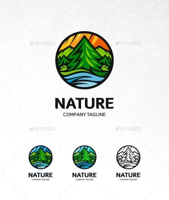 Nature Logo - Envato Market #logo #graphics #LogoDesign