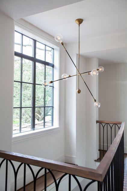 Transitional  by Laura U, Inc. » Love the railings.