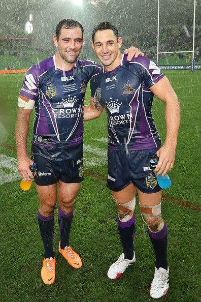 Billy Slater Photos: NRL Rd 2 - Storm v Panthers