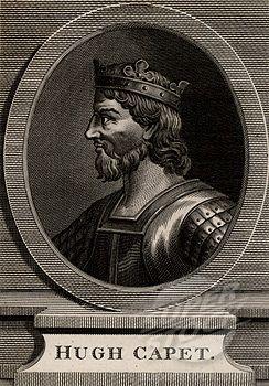 Hugh Capet, King of France  | SuperStock - Hugh Capet (c938-996), King of France, 1793, Copperplate ...