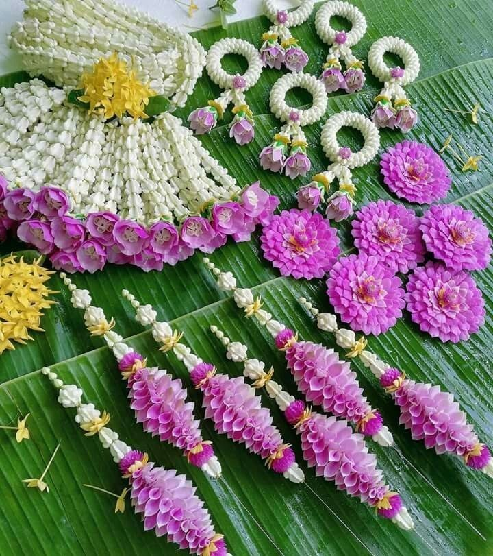 ป กพ นโดย Mali ใน Thai Artificial Flower ดอกไม งานฝ ม อ การจ ดดอกไม