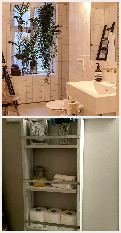 Badezimmer Schrank Neu Gestalten