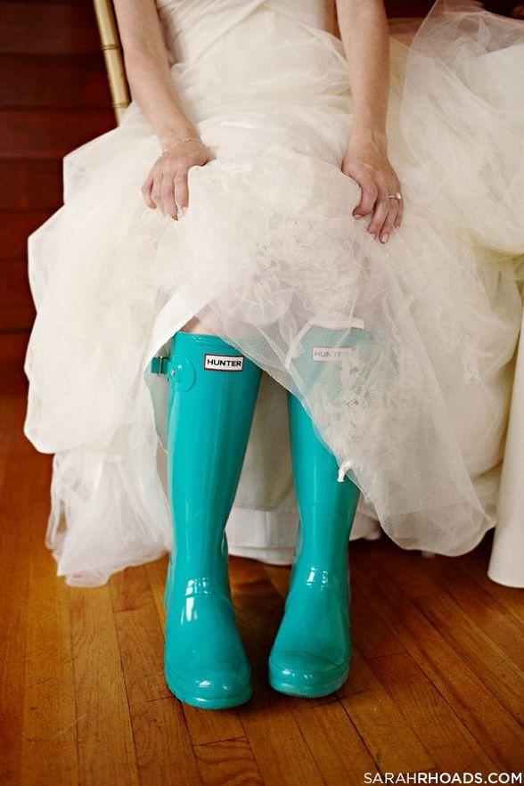 rain on wedding day :)