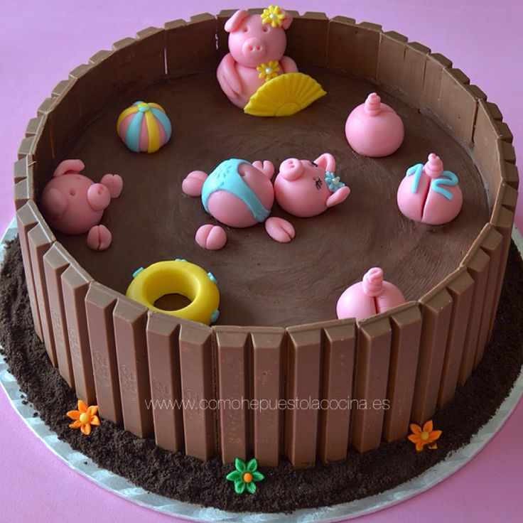 102 best pastel cumple images on Pinterest Candy cakes Birthdays
