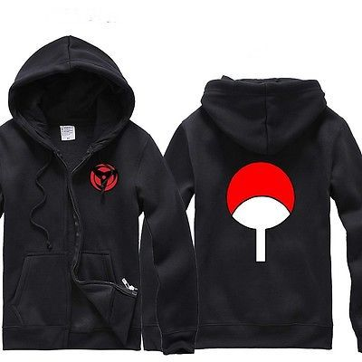 Anime Naruto Costume Mangekyou Sharingan Hooded Sweater Cosplay Hoodie Apparel