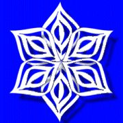 Excellent tutorial for 3D snowflake  Paper Snowflake cutting PATTERN