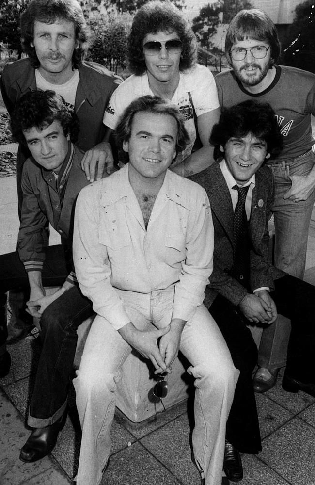 Little River Band. Jeffrey and I sat outside the weight room exchanging playing Little River Band songs on our phones. Lol