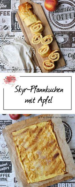 Skyr-Pfannkuchen mit Apfel - Experimente aus meiner Küche