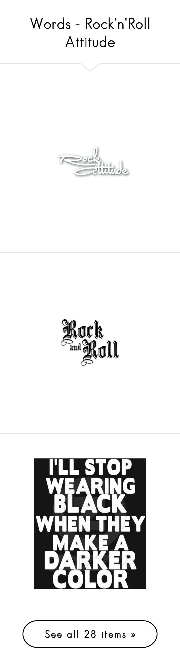 Rock and roll forever quotes quotesgram -  Words Rock N Roll Attitude By Annette Heathen Liked